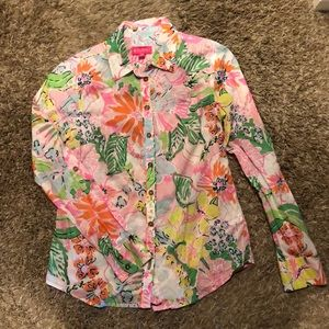 Lilly Pulitzer for Target Button-up
